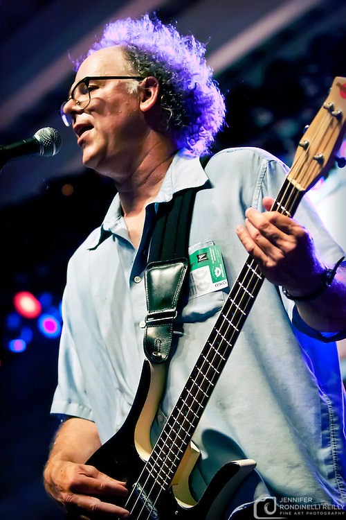 Mike Fredrickson on bass with Paul Cebar Tomorrow Sound performing live at Summerfest 2011. Photo © 2011 Jennifer Rondinelli Reilly. All rights reserved. No use without permission.  Contact me for any reuse or licensing inquiries.