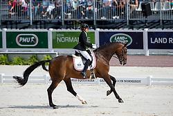 Line Thorining Jorgensen, (DEN), Di Caprio - Freestyle Test Grade IV Para Dressage - Alltech FEI World Equestrian Games™ 2014 - Normandy, France.<br /> © Hippo Foto Team - Leanjo de Koster<br /> 25/06/14