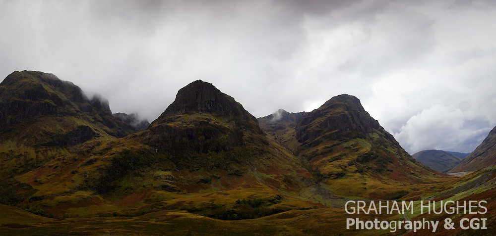The Three Sisters, Mountains, Glencoe, Scotland