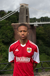 Bobby Reid of Bristol City - Photo mandatory by-line: Kieran McManus/JMP - Tel: Mobile: 07966 386802 31/07/2013 - SPORT - FOOTBALL - Avon Gorge Hotel - Clifton Suspension bridge - Bristol -  Team Photo