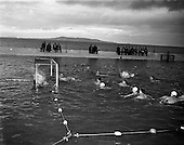1957 - 27/07 Water Polo at Blackrock Baths, Dublin