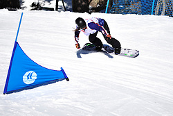 World Cup Banked Slalom, DUCE Heidi Jo, USA at the 2016 IPC Snowboard Europa Cup Finals and World Cup
