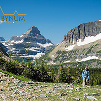 glacier national park preston park siyeh pass