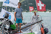 Arrival Simon KOSTER (Proto 888) 3rd to Category Prototype, 24 days 6 hours 5 mn and 40 s with Ian LIPINSKI (winner of the Mini-Transat La Boulangere) during the 2017 Mini Transat La Boulangere on November 15, 2017 in Marin, Martinique, France - Photo Olivier Blanchet / ProSportsImages / DPPI