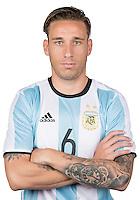 Football Conmebol_Concacaf - <br />Copa America Centenario Usa 2016 - <br />Argentina National Team - Group D -<br />Lucas Biglia