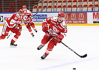 2019-10-23 | Ljungby, Sweden: during the game between IF Troja / Ljungby and Hanhals IF at Ljungby Arena ( Photo by: Fredrik Sten | Swe Press Photo )<br /> <br /> Keywords: Ljungby, Icehockey, HockeyEttan, Ljungby Arena, IF Troja / Ljungby, Hanhals IF, fsth191023, ATG HockeyEttan