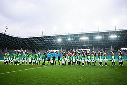 during football match between NK Olimpija Ljubljana and NK Triglav Kranj in Round #22 of Prva liga Telekom Slovenije 2019/20, 25 February, 2020 in Stadium Stozice, Ljubljana, Slovenia. Photo By Grega Valancic / Sportida