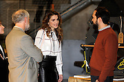 MADRID, SPAIN, 2015, NOVEMBER 19 <br /> <br /> Her Majesty Queen Rania Al Abdullah visiting the Media-lab Prado in Madrid, part of an official visit with His Majesty King Abdullah II to Spain. Her Majesty will tour the premises and meet with the Director of Media-Lab Prado, Mr. Marco Garcia, and senior staff members<br /> ©Exclusivepix Media