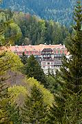 Kurhaus Semmering (1909), Semmering, UNESCO Welterbestätte Semmeringeisenbahn, Steiermark, Österreich |  Kurhaus Semmering (1909), Semmering, UNESCO World Heritage Site Semmering Railway, Styria, Austria