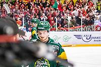 2020-03-10   Umeå, Sverige:Björklöven (18) Axel Ottosson deppar under matchen i HA Finalserien mellan Björklöven och MoDo i A3 Arena ( Foto av: Michael Lundström   Swe Press Photo )<br /> <br /> Nyckelord: Umeå, Hockey, HA Finalserien, A3 Arena, Björklöven, MoDo, mlbm200310