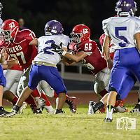 09-14-17 Berryville Jr. High Football vs. Green Forest