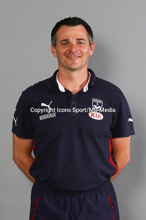 Willy Sagnol - 04.10.2014 - Portrait Officiel - Bordeaux<br /> Photo : Lelann / Icon Sport