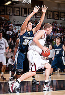 November 1, 2010: The Hillsdale Baptist College Saints play against the Oklahoma Christian University Eagles at the Eagles Nest on the campus of Oklahoma Christian University.