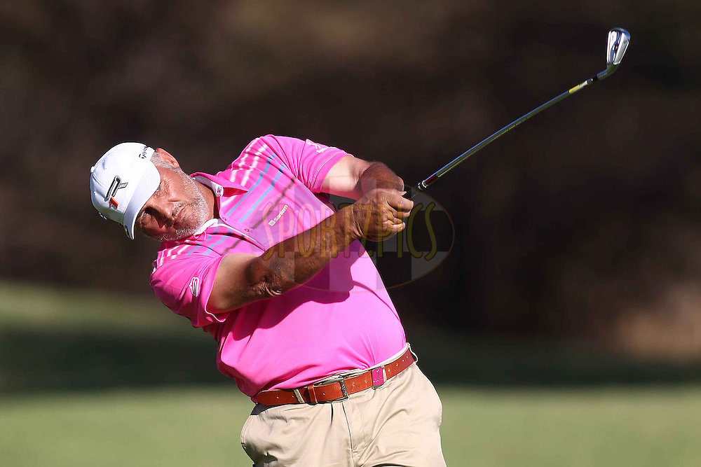 Gideon van Zyl of Springbok Golf Club during the second round of the Sanlam Cancer Challenge Finals held at the Gary Player Country Club in Sun City near Johannesburg on the 22nd October 2013<br /> <br /> Photo by Shaun Roy - SPORTZPICS