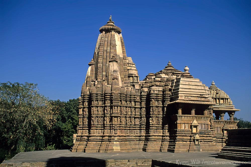 Asia, India, Khajuraho. The Chitragupta Temple, circa 950.