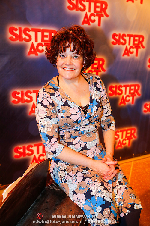NLD/Amsterdam/20130123 - Perspresentatie musical Sister Act, Irene Kuiper