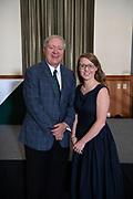 President Nellis with Classified Senate Chair Amanda Graham. Photo by Ben Siegel