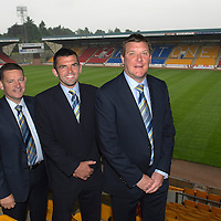 New St Johnstone Manager Tommy Wright pictured at McDiarmid Park this morning where he and new Assistant Manager Callum Davidson held a press conference with Chairman Steve Brown..18.06.13<br /> Picture by Graeme Hart.<br /> Copyright Perthshire Picture Agency<br /> Tel: 01738 623350  Mobile: 07990 594431