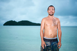 "EXCLUSIVE: Heir to a $100m fortune, Junior Larry Hillbroom is living in virtual exile on his native Palau. The son of DHL boss, Larry Hillblom is accused of persuading two women to bring a form of meth known as ""ice"" from the Philippines. He is currently unable to leave his native Palau under bail conditions while he awaits trial. ***The Sun, OUT People Mag OUT, NY Daily News OUT***. 02 Feb 2017 Pictured: Junior Larry Hillbroom. Photo credit: John Chapple / JohnChapple.com / MEGA TheMegaAgency.com +1 888 505 6342"