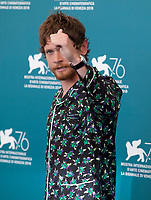 Venice, Italy, 30th August 2019, Jack O'Connell at the photocall for the film Seberg at the 76th Venice Film Festival, Sala Grande. Credit: Doreen Kennedy/Alamy Live News