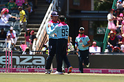 Adil Rashid 3rd wicket  during the One Day International match between South Africa and England at Bidvest Wanderers Stadium, Johannesburg, South Africa on 9 February 2020.