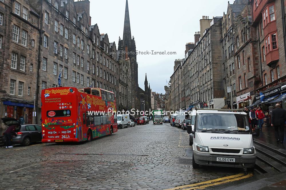 Edinburgh Royal mile, Scotland