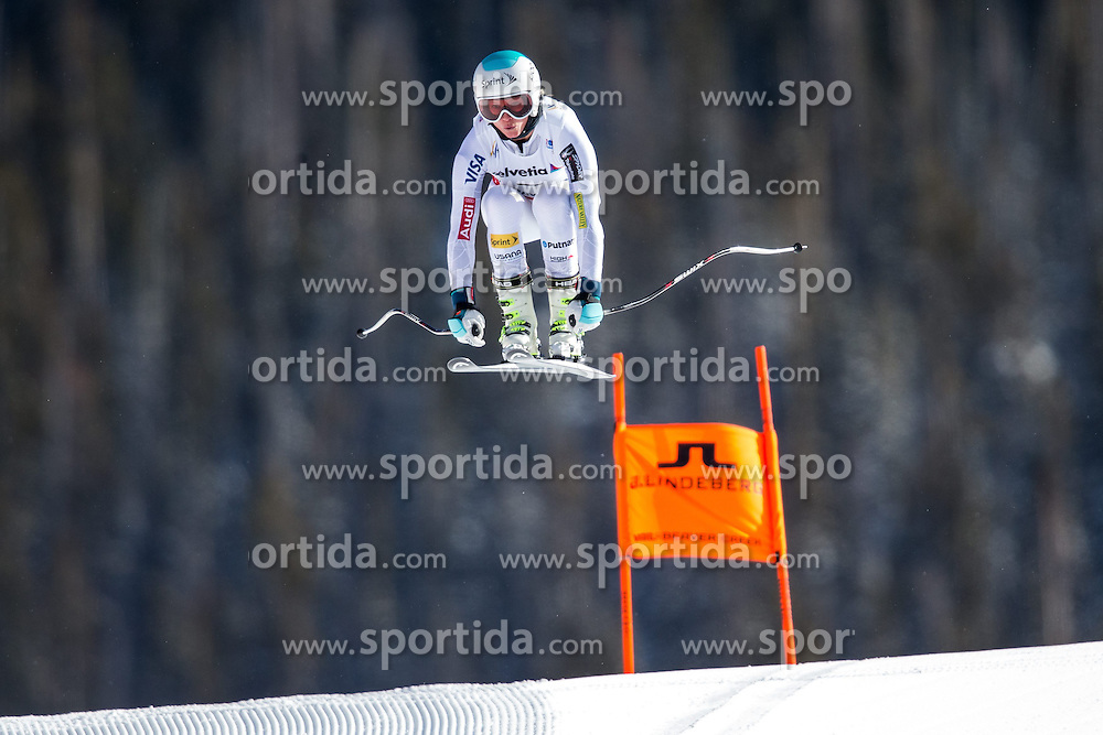 02.02.2015, Raptor Strecke, Beaver Creek, USA, FIS Weltmeisterschaften Ski Alpin, Damen, Abfahrt, 1. Training, im Bild Julia Mancuso (USA) // Julia Mancuso of the USA in action during first training run for the ladie's Downhill of FIS Ski World Championships 2015 at the Raptor Course in Beaver Creek, United States on 2015/02/02. EXPA Pictures © 2015, PhotoCredit: EXPA/ Johann Groder