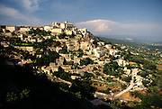 France, Provence, hilltop village of Gordes