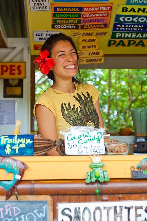 Huelo Lookout Fruit Stand, Road to Hana, Maui