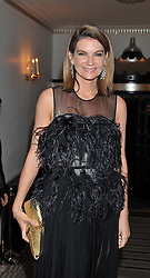 NATALIE MASSENET at the Harper's Bazaar Women of the Year Awards 2011 held at Claridge's, Brook Street, London on 7th November 2011.