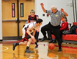 January 27, 2012: High School Boys Basketball Bridgeport vs. Liberty. Mandatory Credit: Ben Queen