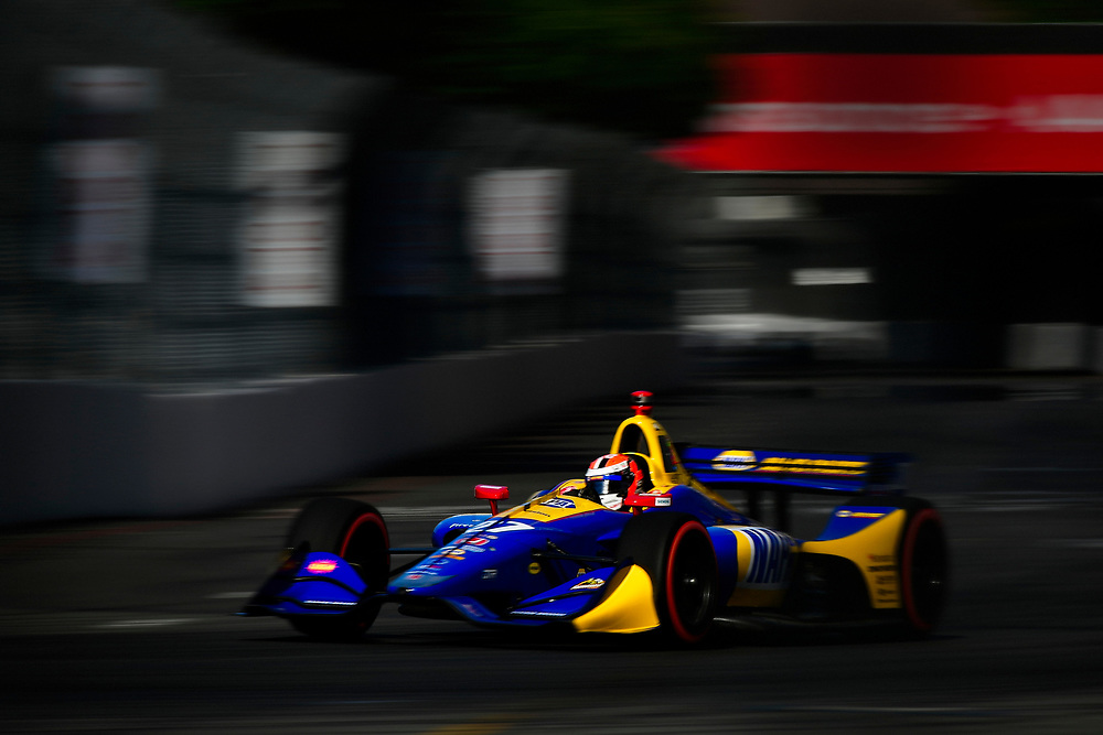 Alexander Rossi, Andretti Autosport Honda<br /> Sunday 15 April 2018<br /> Toyota Grand Prix of Long Beach<br /> Verizon IndyCar Series<br /> Streets of Long Beach, California USA<br /> World Copyright: Scott R LePage<br /> LAT Images