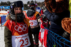 12-02-2018 KOR: Olympic Games day 3, PyeongChang<br /> Snowboard Halfpipe women qualification / Kaja Verdnik of Slovenia
