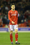 Nottingham Forest midfielder Joe Lolley  during the EFL Sky Bet Championship match between Nottingham Forest and Charlton Athletic at the City Ground, Nottingham, England on 11 February 2020.