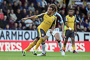 Arsenal midfielder Santi Carzola (19) during the Premier League match between Burnley and Arsenal at Turf Moor, Burnley, England on 2 October 2016. Photo by Pete Burns.
