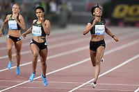 Salwa Eid NASER BRN (L) Winner,Stephenie Ann McPHERSON JAM 400m Women <br /> Roma 31-05-2018 Stadio Olimpico  <br /> Iaaf Diamond League Golden Gala <br /> Athletic Meeting <br /> Foto Andrea Staccioli/Insidefoto