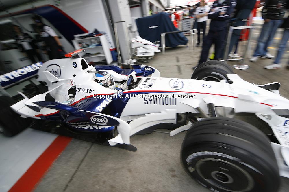 Nick HEIDFELD - BMW-Sauber F1 - - Silverstone, Formel 1 - 05.07.2008, F1 GP von England in Silverstone - British GP - Foto: © ATP Arthur THILL