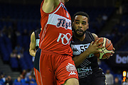 Jaysean Paige of the Newcastle Eagles during the Betway British Basketball All-Stars Championship at the O2 Arena, London, United Kingdom on 24 September 2017. Photo by Martin Cole.