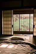 Temple lodging at Yochiin.