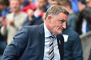 Blackburn Rovers Manager, Tony Mowbray  during the EFL Sky Bet Championship match between Blackburn Rovers and Aston Villa at Ewood Park, Blackburn, England on 29 April 2017. Photo by Mark Pollitt.