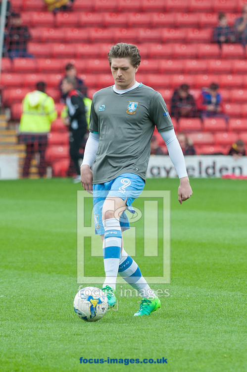 Adam Reach of Sheffield Wednesday warms up prior to the Sky Bet Championship match at Oakwell, Barnsley<br /> Picture by Matt Wilkinson/Focus Images Ltd 07814 960751<br /> 01/04/2017