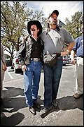 San Antonio, Texas, USA, 20060926: Gubernatiorial Candidate in Texas, Kinky Friedman (independent) campaigns at the Trinity University in San Antonio and gets a little help from former Governor in Minnesota, Jesse Ventura.<br /> <br /> Photo: Orjan F. Ellingvag/ Dagens Naringsliv
