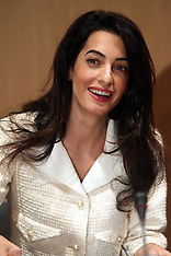 OCT 15 2014 Amal Clooney in Athens