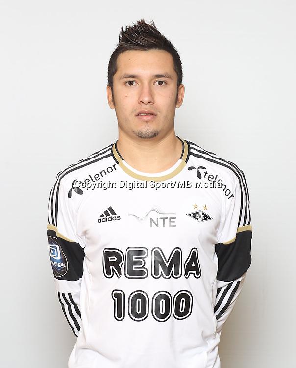 Fotball , Tippeligaen 2013 , Elitesereien<br /> , portrett , portretter<br /> Rosenborg<br /> Jaime Enrique Alas Morales