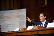 "Feb 16, 2011 - Washington, District of Columbia, U.S. - TOM ADAMS, president and CEO of Rosetta Stone Inc. testifies during a Senate Judiciary Committee hearing on ""Targeting Websites Dedicated To Stealing American Intellectual Property."" (Credit Image: © Pete Marovich/ZUMA Press)"