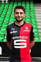 Sanjin PRCIC - 15.09.2014 - Photo officielle Rennes - Ligue 1 2014/2015<br /> Photo : Philippe Le Brech / Icon Sport