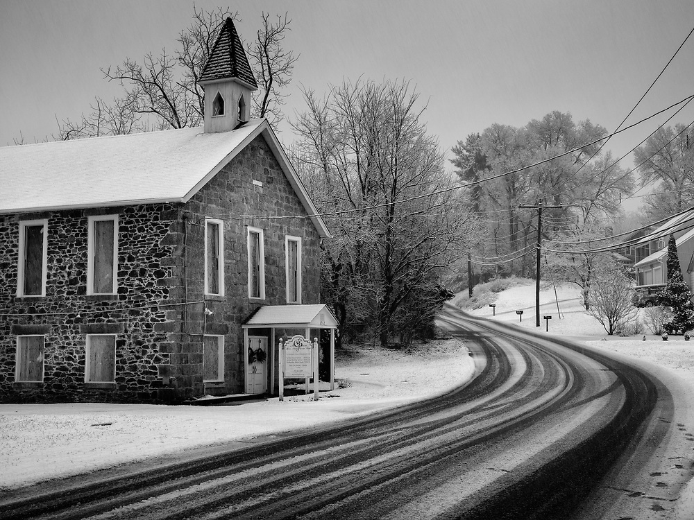 Mt. Gilboa African Methodist Episcopal Church in Oella, Maryland.