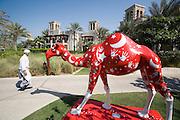 Madinat Jumeirah Resort. Camel art.