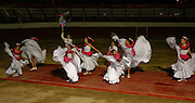 Activities of the Mexico Fiesta at the Bullfighting Ring in Cabo San Lucas on March 15, 2007.  Note: the Portuguese bullfighting and cockfighting was bloodless. (Photo copyright 2007 Lance Cheung)