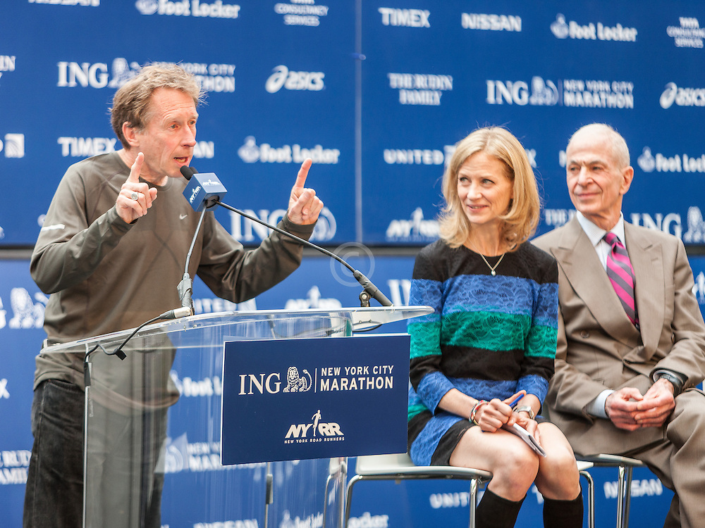 ING New York City Marathon: NYRR Hall of Fame induction, Bill Rodgers
